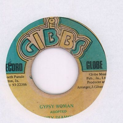 "Mighty Diamonds/ Mighty Two(7"" Vinyl)Gypsy Woman/ Gypsy Dub-Globe-Jamai-Ex/G-"