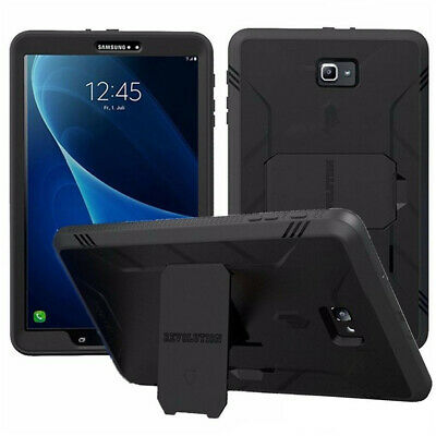 Poetic Samsung Galaxy Tab A 10.1 Rugged Case with Built-in Screen Protector BLK