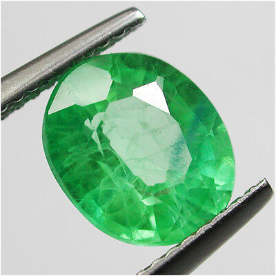 3.10ct Woderfull Diffusion Colombian Green Emerald Chathum Oval Gem