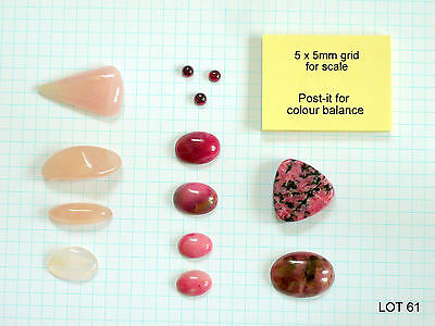 Jewellery making - Stones - Mixed lot (LOT 61) - 13 LOTs available, Pls read on.