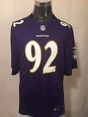 NFL Baltimore Ravens #92 XL** Game Day Printed Gridiron Jersey by NIKE