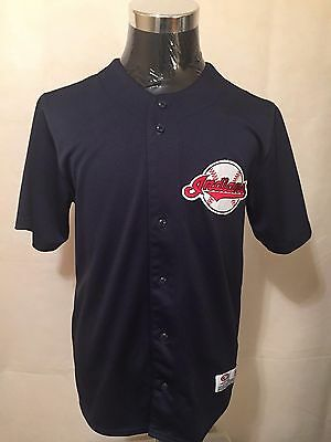 MLB Cleveland Indians MED Embroidered Supporters Baseball Jersey by True Fan