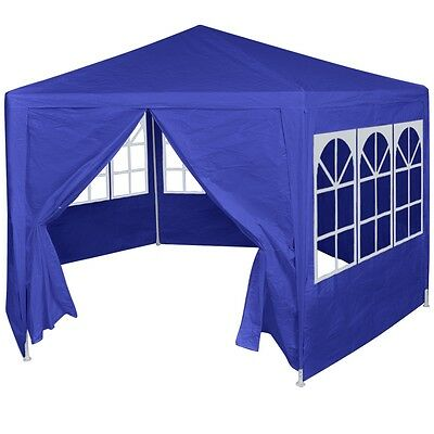 Garden Party Tent Marquee Gazebo Wedding Party Cover Shelter with 6 Side Walls