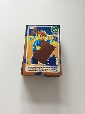 73 Sainsbury's Create The World Lego Trading Cards