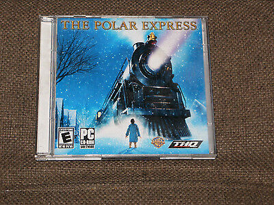 The Polar Express Pc Cd-Rom Game (Pc-2004) Two Discs