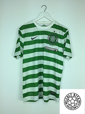 CELTIC 12/13 *125th Anniversary* Home Football Shirt (L) Soccer Jersey Nike
