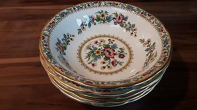 5 x Coalport Ming Rose China Cereal Bowl Made in England