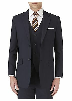 SKOPES Darwin Plain Navy Mens Single Breasted Suit Jacket