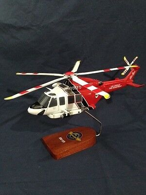 Agusta Westland AW139, LA Fire Department,  rescue helicopter