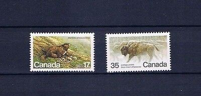 canada stamps sg10006/7 Endangered Wildlife (5th Series)  1981... Mint ...