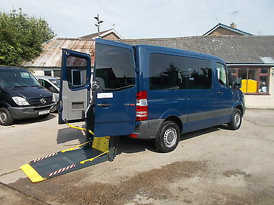 Wheelchair Accessible Wav Disabled 2010 Mercedes Sprinter Drive Or Passenger Up