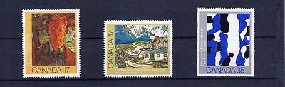 canada stamps sg1010/12 Set of 3 Canadian Paintings 1981... Mint ...