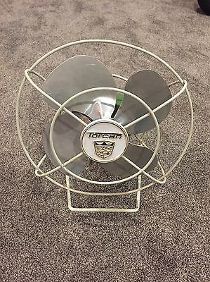 Torcan Vintage Fan Modle 1057 Works Great