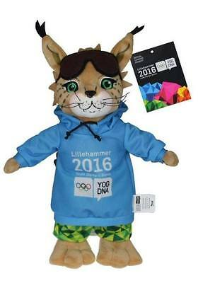 Youth Olympic Games Lillehammer 2016 Mascot Brand New