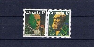 canada stamps sg1017/18 Canadian Botanists  1981... Mint ...