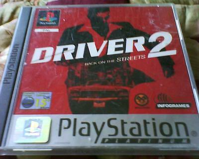 Playstation 1 Or 2 Game Version Of Driver 2 Complete