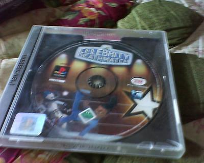 Playstation 1 Or 2 Game Version Of Celebrity Deathmatch No Booket Top Inlay