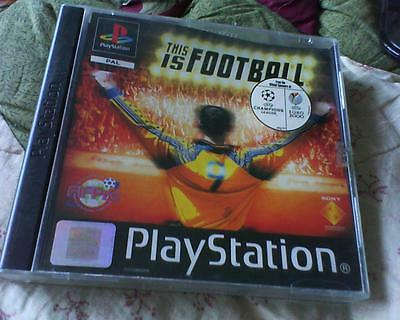 Playstation 1 Or 2 Game Version Of This Is Football Complete
