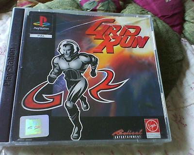 Playstation 1 Or 2 Game Version Of Grid Run Complete