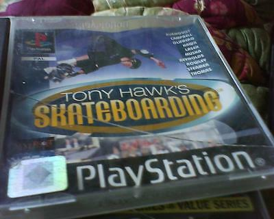 Playstation 1 Or 2 Game Version Of Tony Hawk's Skateboarding No Booklet