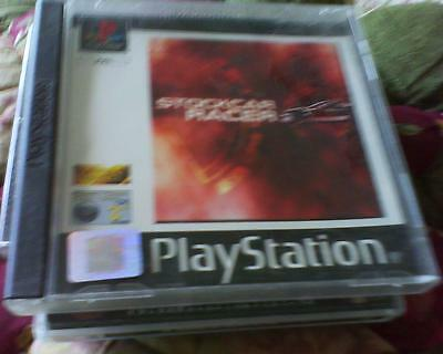 Playstation 1 Or 2 Game Version Of Stock Car Racer Complete