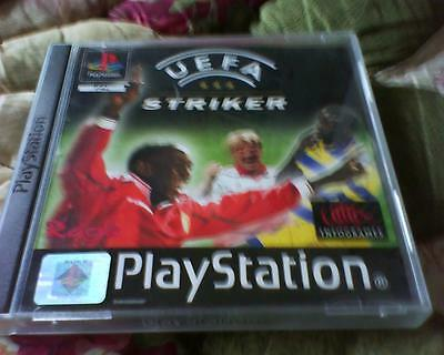 Playstation 1 Or 2 Game Version Of U E F A Striker Complete