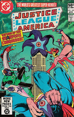 JUSTICE LEAGUE OF AMERICA 189 1st SERIES DC AMERICAN COMIC