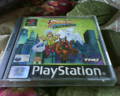 Playstation 1 Or 2 Game Version Of Scooby Doo And The Cyber Chasers Complete