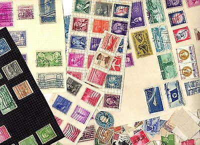 Stamps ~ UNITED STATES OF AMERICA USA U.S.A. ~ Unsorted