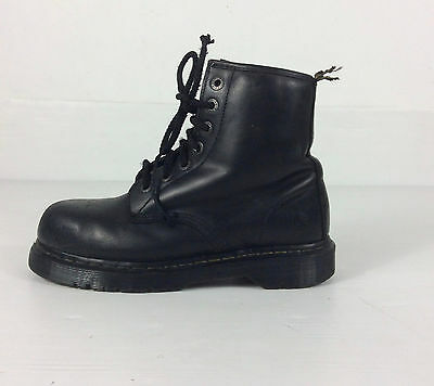 Dr. Martens  Airwair Industrial S Steel Toe Cap Safety Ankle Boots  Size Uk 7