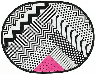 ZIG-ZAG PLACEMAT PATTERN, From Cut Loose Press Patterns NEW