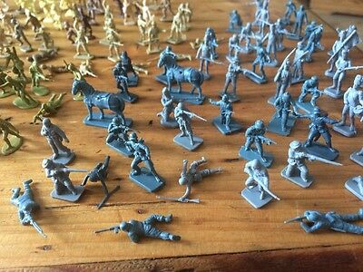 Assortment Of Mini Vintage Toy Soldiers