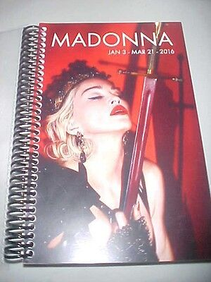 Madonna 2016 Rebel Heart Itinerary N.America/Asia Jan~March (79pgs)