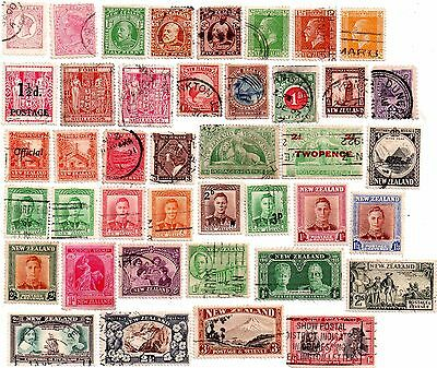 commonwealth stamps, early new zealand