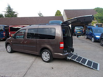Wheelchair Accessible Wav Disabled 2012 Volkswagon Caddy Maxi C20 Life Automatic