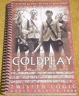 Coldplay 2006 Twisted Logic Tour Itinerary North America (67pgs)