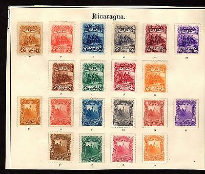 Postage Stamps  ~ NICARAGUA ~ Mounted Mint #1