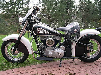 """1946 Indian  1946 Customized/Restored Indian Chief """"Bobber"""""""