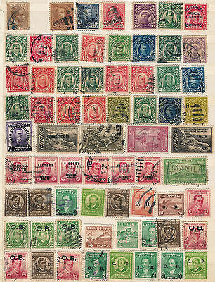 Collection Of Early Philippines All Good Used