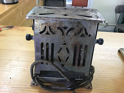 Antique Toaster With Original Electrical Cord