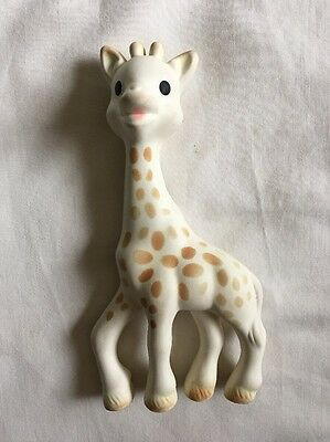 Sophie The Giraffe Teether Squeaky Baby Sensory Toy