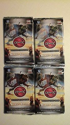 4 Pack Lot Of Chaotic Silent Sands 9 Cards Per Pack