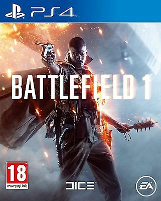 Battlefield 1 (Playstation 4 PS4 Video Game) *NEW/SEALED* FREE P&P