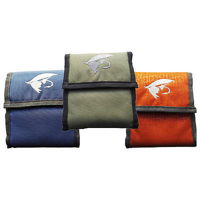 New Fishoot Multi Pouch Pocket Polyleader Fly Fishing Skagit Mesh Wallet