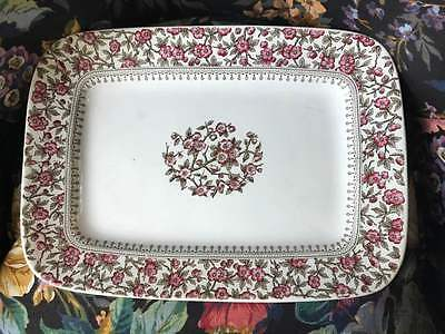 T. Furnival and Sons Serving Platter