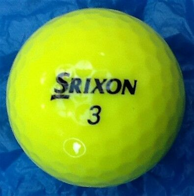 12 x  A - GRADE YELLOW SRIXON  AD333 GOLF BALLS