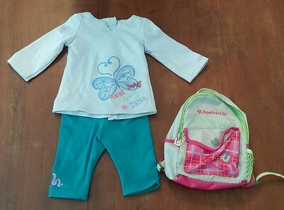 American Girl Doll Outfit & Backpack