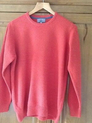 Mens M&S cotton knitted jumper size small