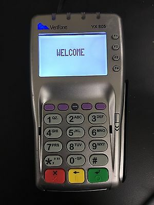 Verifone Vx 805 Used Pin pad For Credit Card Machine W/ Chip Reader