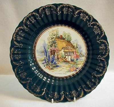 Wade Royal Victoria Pottery Somerset Cottage Wall Plate